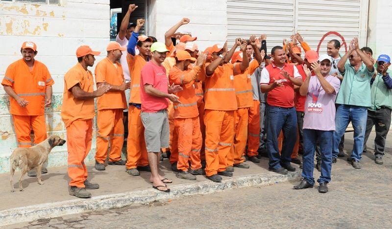Serviços de limpeza pública estão parados hoje em Patos
