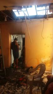 Incêndio na casa de Mundinho de Malta