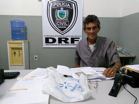 Delegado comenta a prisão em Patos de um homem acusado de integrar grupo criminoso