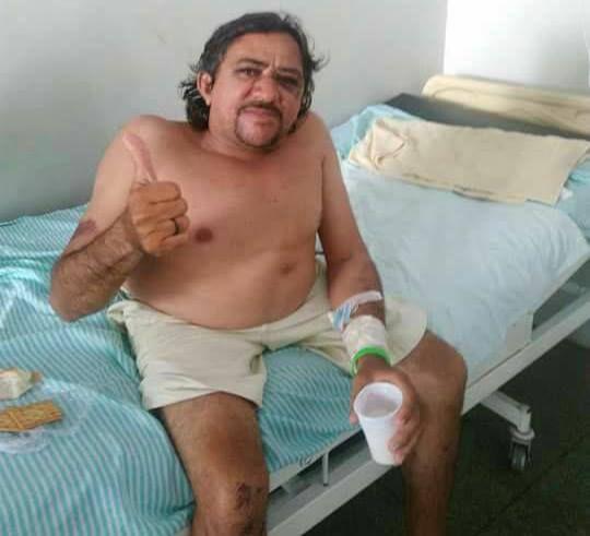 Tourinho ainda aguarda por cirurgia no Hospital Regional de Patos