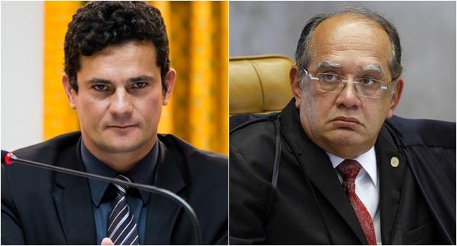 Moro e Gilmar Mendes batem de frente sobre pacote anticorrupção