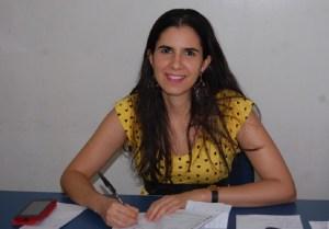 Diretora do Frei Damião, Rebeca Valentim