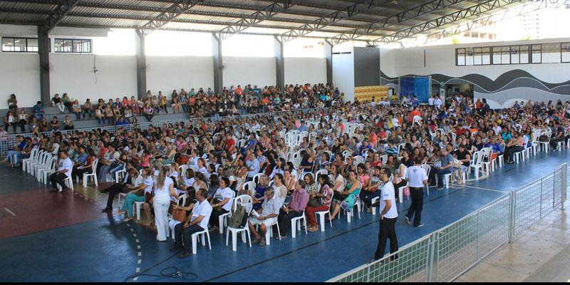 Secretaria de Educação realizou abertura do Encontro Municipal de Planejamento Pedagógico