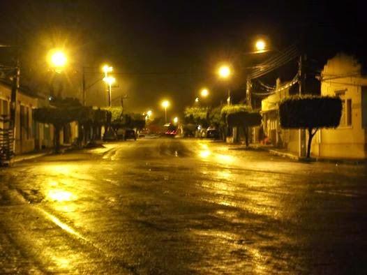 Nos últimos dois dias choveu 76,6 milímetros em Teixeira