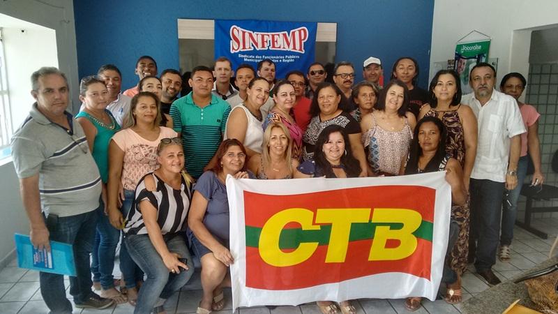 SINFEMP se mobiliza em defesa dos servidores municipais e para greve dia 15 de março