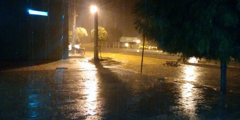 Chove 97 milímetros na cidade de Malta