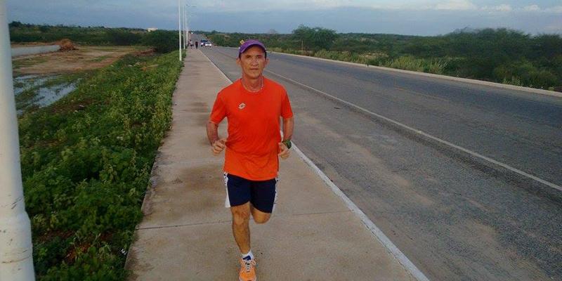 Patoense corre 12 quilômetros por dia, e isso há mais de 20 anos