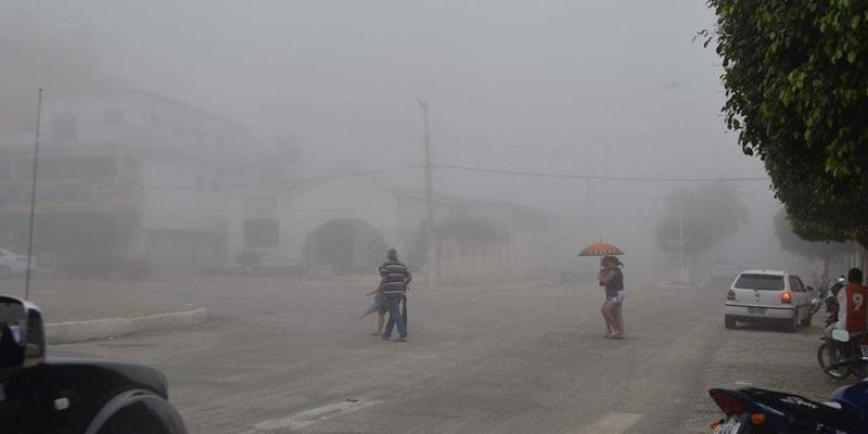 Chuva em Teixeira foi de 50.2 mm