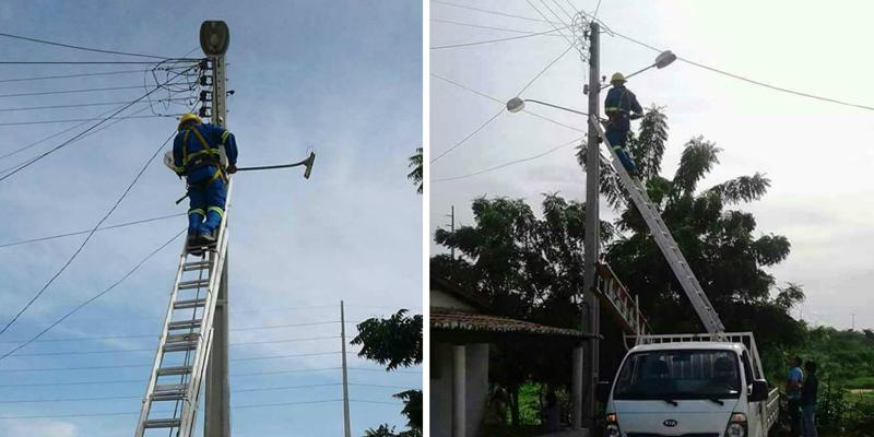 """Projeto """"Patos Mais Luz"""" intensifica recuperação da iluminação pública"""