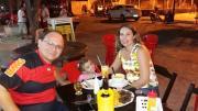 Advogado Aluísio Queiroz e esposa