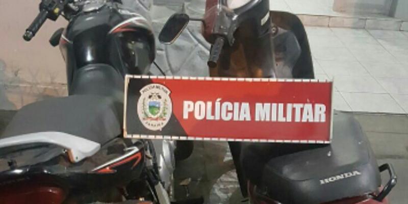 Polícia Militar recupera motocicletas roubadas em menos de 24 horas, em Patos