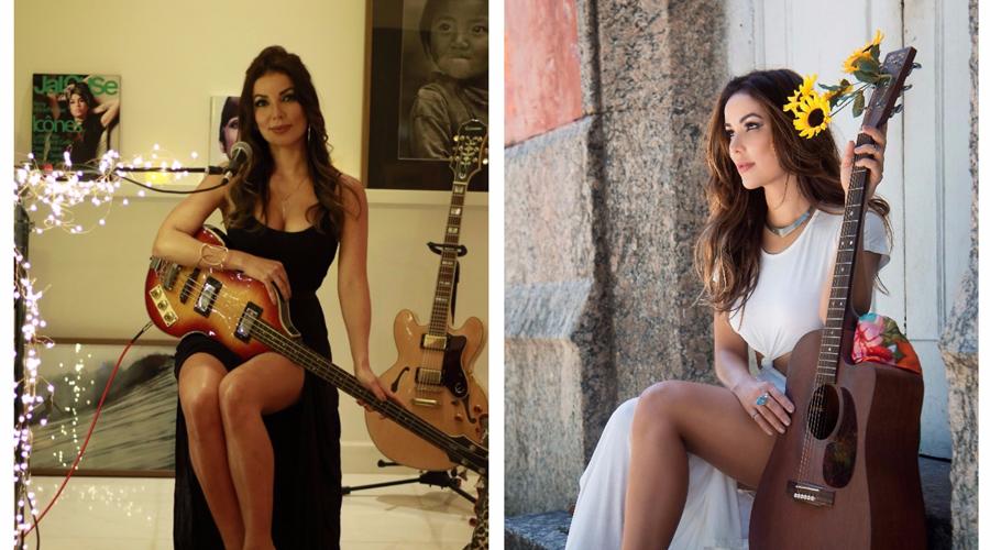 Cantora Liah Soares, que domina a técnica dos pedais de loop, fará show em Patos no sábado