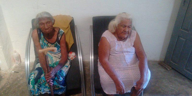 Veja como ajudar as idosas que perderam tudo em incêndio em Patos