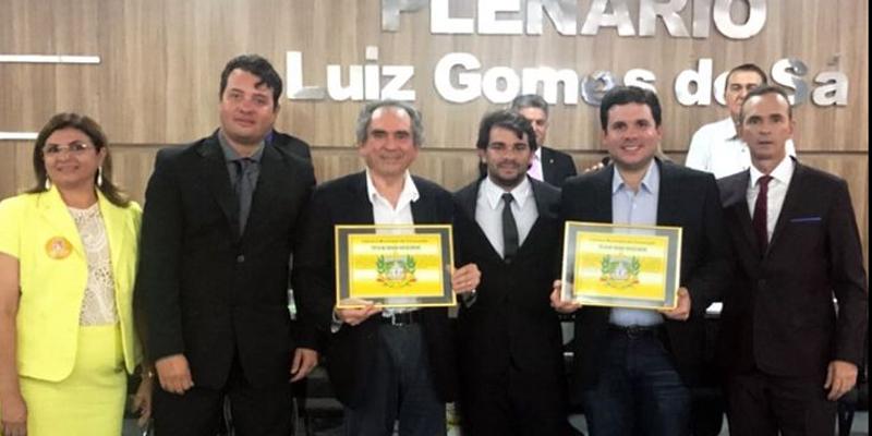 Hugo Motta recebe título de Cidadão Conceiçoense