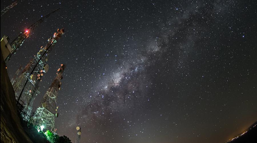 Astrofotógrafos fazem fotos de rara beleza no Encontro Estadual em Matureia