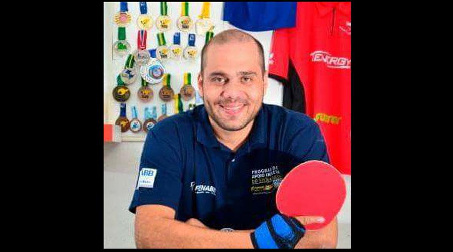 Atleta paralímpico Lacordaire faz campanha online para arrecadar fundos para disputar campeonatos internacionais