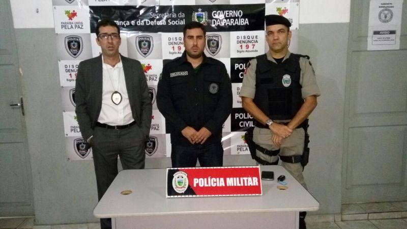 Polícias Civil e Militar realizam operação em Patos