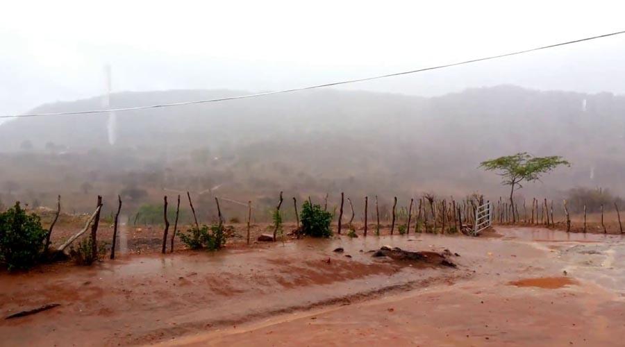Bom Sucesso registra chuva de mais de 80 mm. Chove em várias cidades do Vale do Piancó. Veja os índices