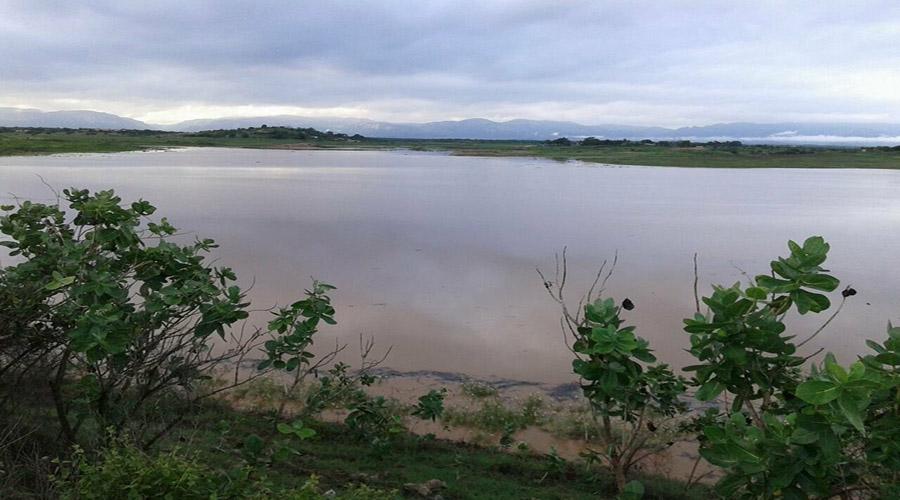 Açude do Jatobá pega mais de um metro d'água de ontem para hoje