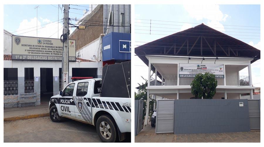 Policia Civil de Patos muda de endereço