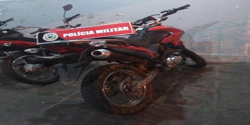 Moto roubada em Assu-RN é recuperada pela Polícia Militar em Patos