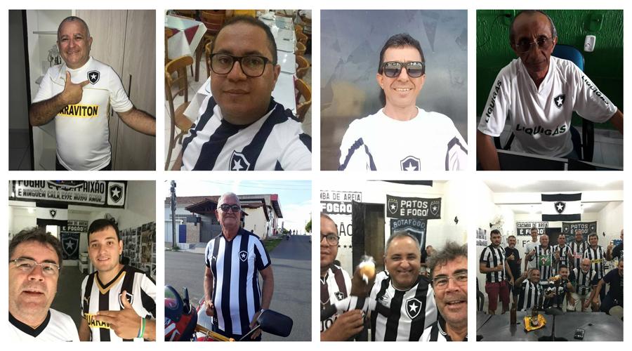 Torcida do Botafogo em Patos comemora o título Carioca