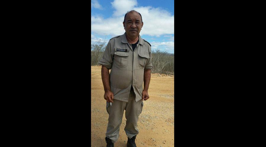 Militar Francinaldo Gomes, conhecido como