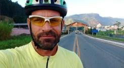O fotógrafo Cláudio Kennedy Queiróz registrou todo o percurso e cada cidade pela qual passava no caminho que fez de bicicleta de Pernambuco a Araraquara (SP). (Foto: Arquivo pessoal)