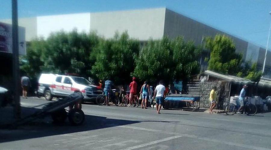 Após discussão, homem é esfaqueado próximo ao Mercado da Carne em Patos