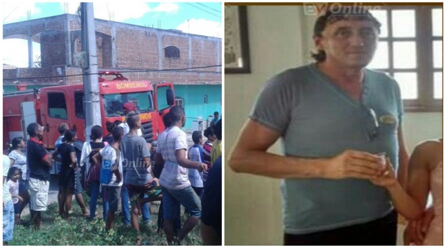Homem morre carbonizado em incêndio provocado por um celular em Itaporanga