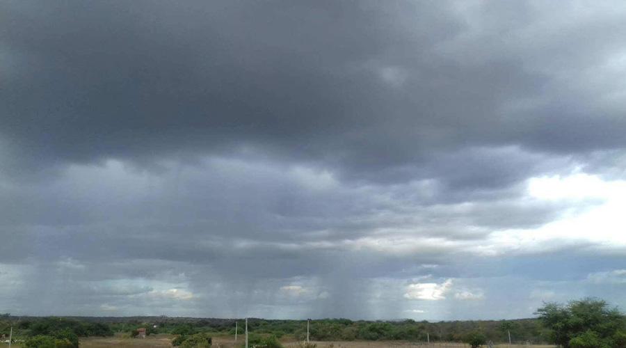 Quarta-feira com pancadas de chuvas no Sertão