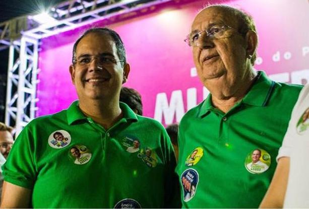 Gustavo Wanderley inaugura comitê e lança candidatura, mas seu irmão Dinaldinho não participa