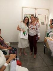 Joana Sabino, coordenadora do Banco de Leite, explicou a importância da doação e agradeceu à disposição das mães