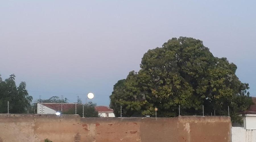 A Lua que nasceu encantando a todos no Sertão