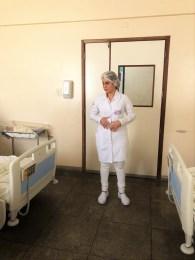 A professora, Maria Euzarene Tiburtino, da Ecisa, abordou essa temática nos alojamentos da unidade.
