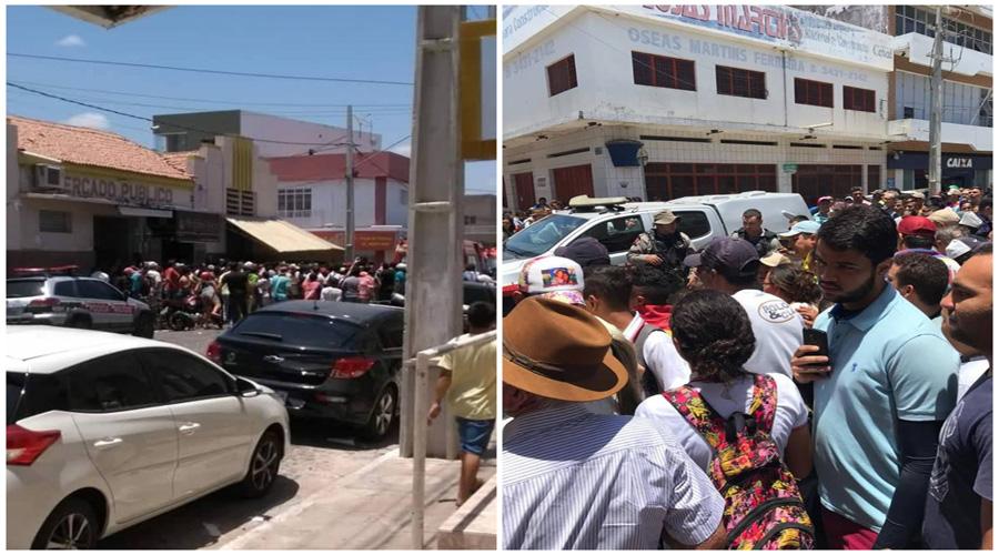 Bandidos são mortos após tentativa de assalto em joalheria de Pombal