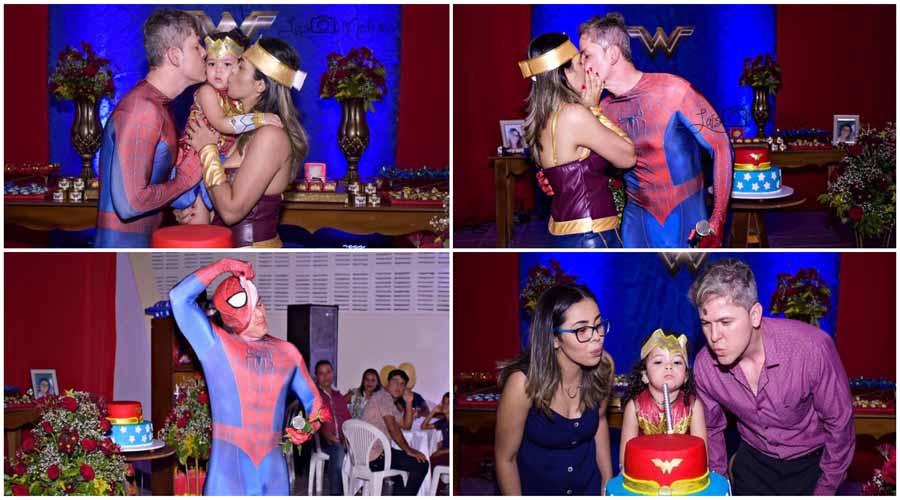 Marido faz surpresa e comemora em grande estilo o aniversário da esposa em Santa Luzia