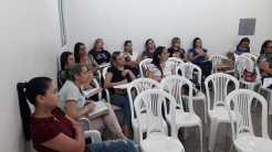 Enfermeiros da Maternidade que participaram do treinamento hoje
