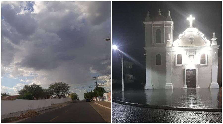 Chove em Sousa, Pombal, Patos e muitos outros municípios da região