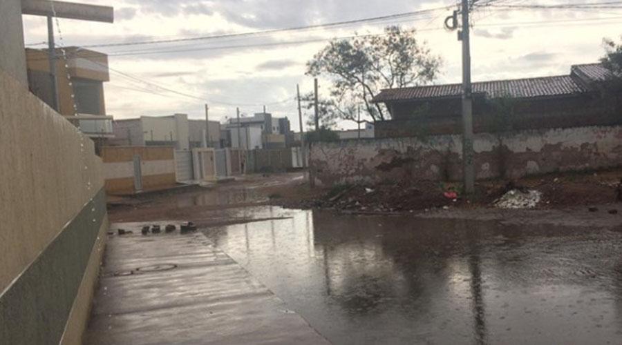 Chove em Sousa e fortes trovões acordam a população durante as primeiras horas do dia
