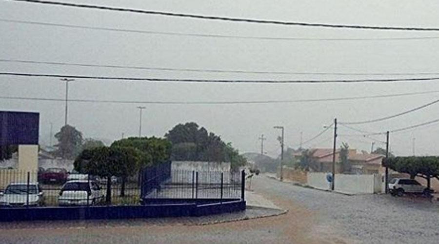 Chove 32,9 mm na madrugada deste sábado, em Conceição