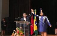 João Azevêdo e Lígia Feliciano tomam posse na Capital, no Teatro Pedra do Reino