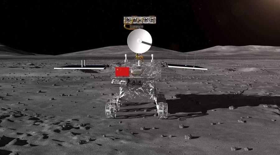 Pela primeira vez na história, sonda chinesa pousa no lado oculto da Lua