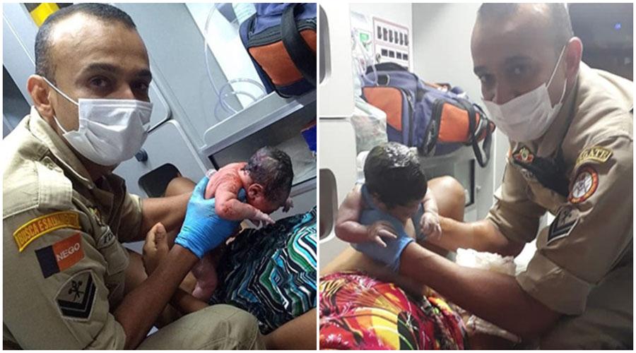 Guarnição do Corpo de Bombeiros realiza dois partos em menos de 72h em Campina Grande