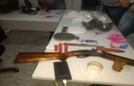 Polícias Civil e Militar prendem sete pessoas e apreendem armas e drogas em Patos e outras cidades