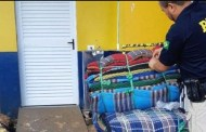 Morador de São Bento é preso no PR transportando mais de 70 kg de drogas em redes