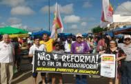 Entidades realizam ato público na Feira de Sousa contra a Reforma da Previdência
