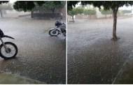 Tarde de muita chuva em São José de Espinharas