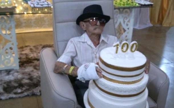 Seu Zé Pretinho, morador mais velho de Malta, morre aos 100 anos de idade