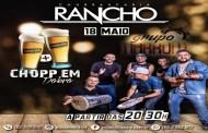 Música ao vivo na noite deste sábado na Churrascaria O Rancho, em Patos